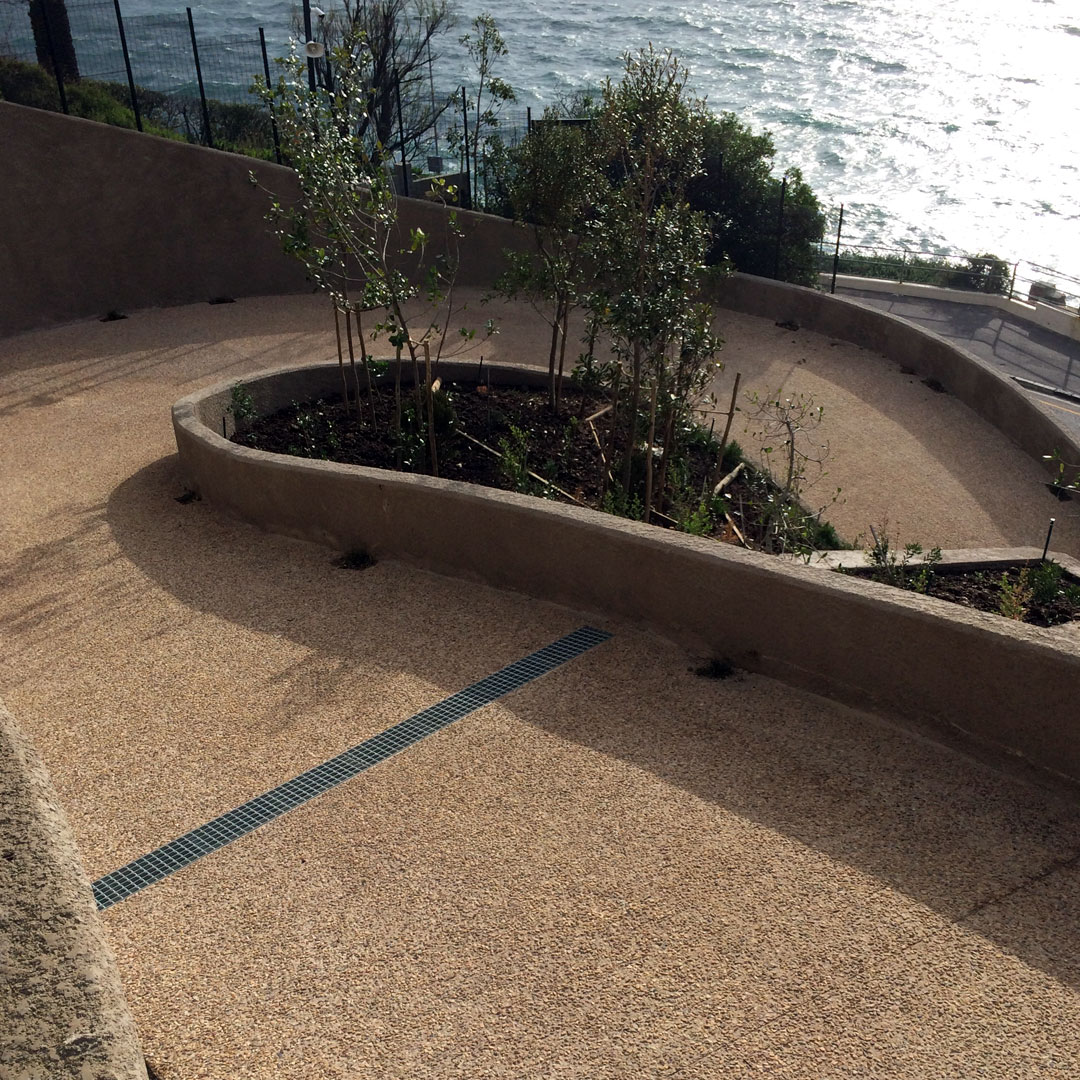 aggregate concrete paving